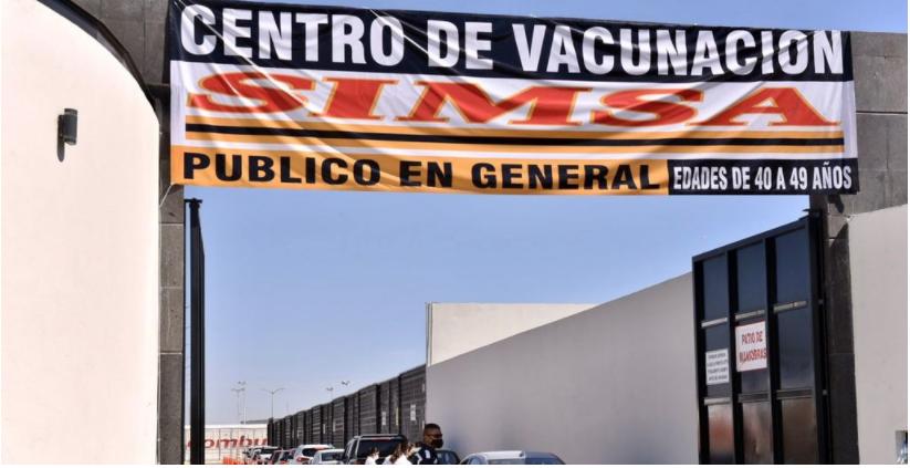 Grupo SIMSA se suma al plan de vacunación en Torreón