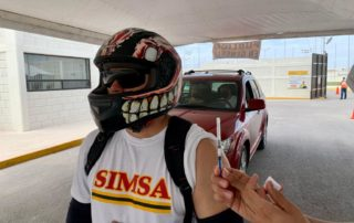 Grupo Simsa apoyó una vez más en las jornadas de vacunación
