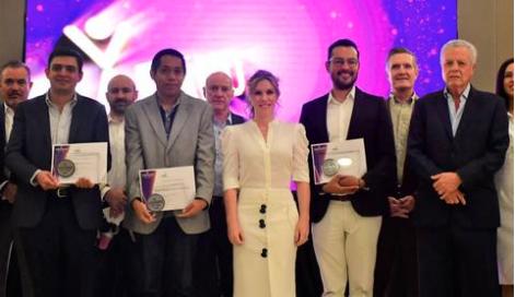Nesim Issa Tafich fue uno de los empresarios galardonados con el premio de Ciudadano del Año